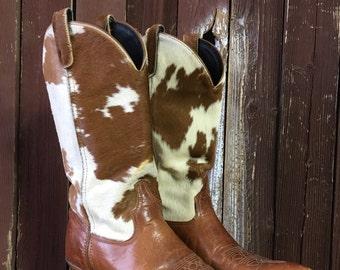 Pony Hair Cowboy Boots