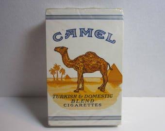 Vtg. Camel Cigarettes Deck of Cards ; sealed package.