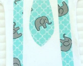 Elephant Bodysuit,Cute Elephant Bodysuits, Elephant T-Shirts, Baby Shower Gift, Boy's Birthday Shirts, Bring Home Outfit, Elephant Tee Shirt