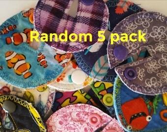 Random 5 pack G-tube pads.