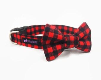 Dog Collar Bow Tie Set Brawny