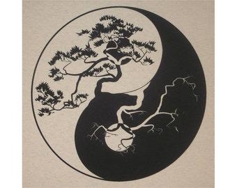 Yin Yang Crew T-Shirt BL
