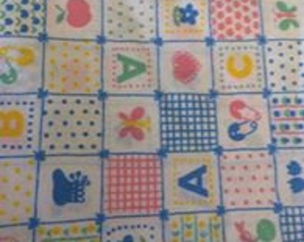 Baby Blocks Fabric (sold by the half yard)