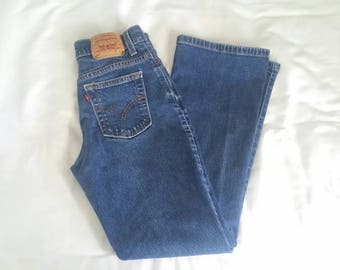 Vintage Levis 515 Medium Wash Jeans
