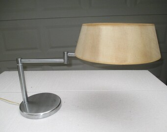 Authentic 1960s NESSEN Studio Swing Ard DESK LAMP Mid Century Modern Arredoluce Flos Lightolier Thurston