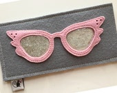 Eye Catching Eyeglass Case Glam Girl