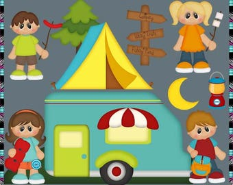 Gone Camping Outdoors Campsite RV