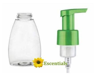 8.5 Ounce Table Top Foamer and Green Pump