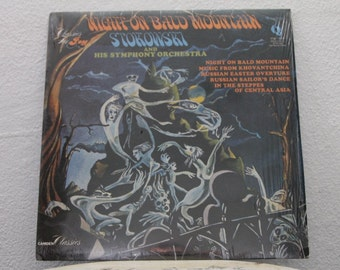 Night On Bald Mountain - Leopold Stokowski And His Symphony Orchestra, vinyl record