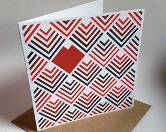 Deco Heart Card
