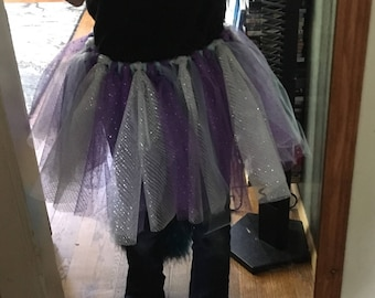 Tulle costume tutu skirt