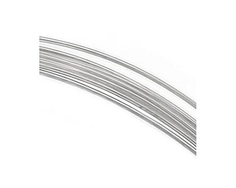 1 Troy Oz. ROUND Sterling Silver Wire, Choice of Gauge & Temper, 925 Sterling Silver Wire, USA Made
