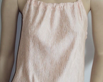 Pale pink cami top
