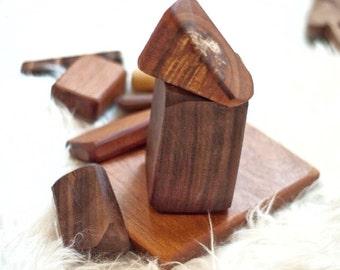 Building Blocks - Wooden Blocks - Waldorf - Montessori Toy - Wooden Stacking Block - Wooden Building Block - Sensory Toy - Montessori Toys