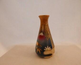 Vintage Hand Painted SAKE Vase
