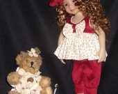 Dianna Effner's Little Darling 5 Piece OOAK Outfit, made by Frilly Frillz