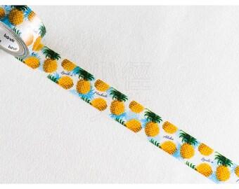 Mahalo Retro Pineapple Washi Tape - NICO Bande BDA087