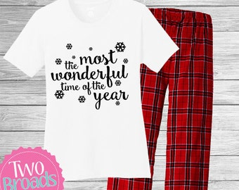 christmas Pajamas, personalized christmas pajamas, adult christmas pajamas, family pajamas, Personalized Pajamas