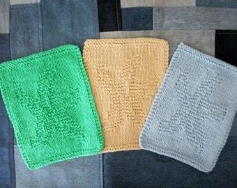 CLOSEOUT 6 Handkint Dish/Washcloth Starfish