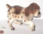 Napco Japan A230 Red Brittany Cocker Spaniel Dog Animal Figurine Puppy Paw Up
