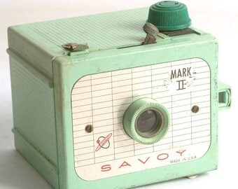 Vintage Camera Savoy Mark II Camera for 620 Film Mint Green C1503