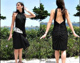 Sexy backless dress | Etsy
