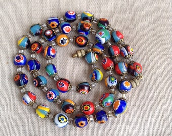 1950's Murano beads necklace.