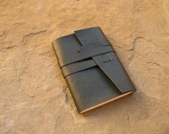 Leather journal 21 x 14,5 cm  leather book