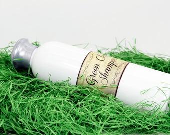 Organic Green Clay Shampoo, oily hair shampoo, organic shampoo, oily scalp shampoo, anti-dandruff sahmpoo