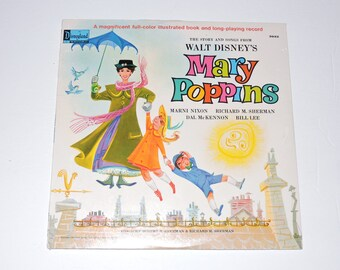Mary Poppins Vinyl Etsy
