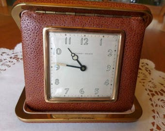 Vintage Alarm Clock, Alarm Clocks, Art Deco, Art Deco Clock, Travel Alarms, Travel Clock, Phinney Walker, Vintage Clocks, Alarm Clock