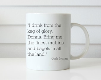 WEST WING MUG bartlet mcgarry lyman coffee mug west wing show mug coffee mug gift mug johsh lyman lemon lyman funny mug aaron sorkin