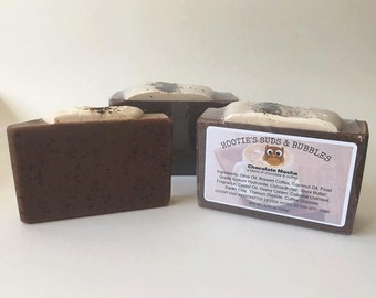 Chocolate Mocha Cold Processed Handmade Soap