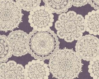 Prima Ruru Bouquet - Purple - Quilt Gate