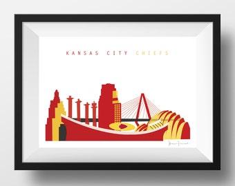 Kansas City Chiefs Print