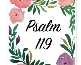 Psalm 119*** A 5 day devotional