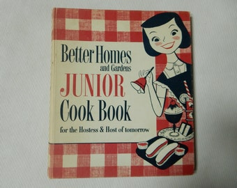 Better Homes and Gardens Junior Cook Book First Edition