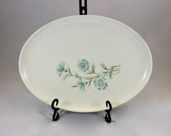 Taylor Smith Taylor Ever Yours, Boutonniere Pattern Oval Serving Platter