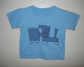 Train T-Shirt, 3T, Organic Cotton