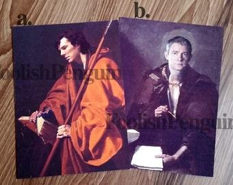 5X7 Sherlock Print