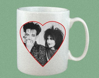 Robert Smith & Siouxsie Sioux 11 oz. mug