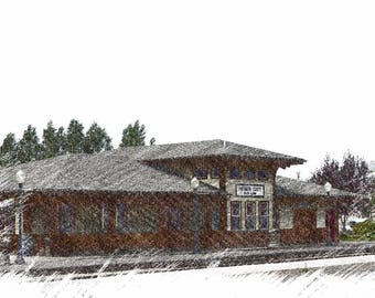 Heber Valley Train Station