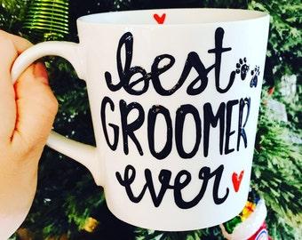 Best Groomer Ever- Dog Groomer Gift- Cat Groomer Gift- Veterinary  - fur babies- best fur baby mom ever - pet mommy mothers day mug-vet gift
