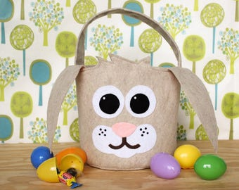 Easter gift idea etsy bunny easter basket woodlandwoodland animals easter basket ideas easter gift ideas negle Gallery