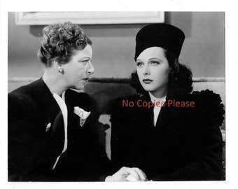 "Beautiful Hedy LeMarr 1940's Movie Star Inventor Original 7"" X 9"" Photograph"