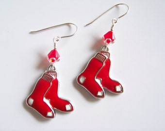 Boston Red Sox MLB Earrings - Item E1532