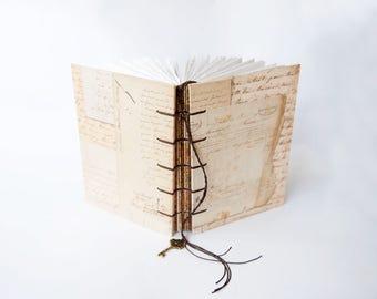 Vintage Letters -Travel Journal, Notebook, Sketchbook