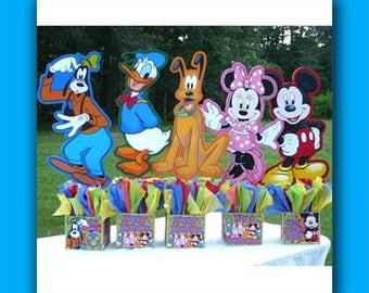 DIY Medium Disney Mickey Mouse Centerpiece, Disney World Party, 2 foot centerpiece