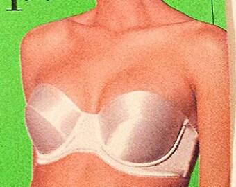 NOS strapless bra