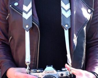 Skye Chevron Camera Strap